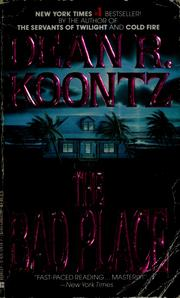 Cover of: The bad place | Dean R. Koontz.