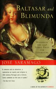 Cover of: Baltasar and Blimunda by José Saramago