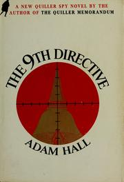 The 9th directive by Adam Hall