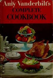 Cover of: Amy Vanderbilt's complete cookbook by Amy Vanderbilt