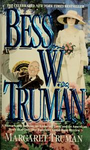 Cover of: Bess W. Truman by Margaret Truman