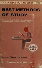 Best methods of study by Smith, Samuel