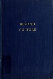Beyond culture by Trilling, Lionel