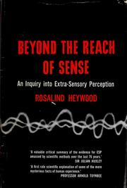 The sixth sense by Rosalind Heywood