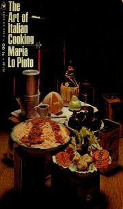Cover of: The art of Italian cooking by Maria Lo Pinto