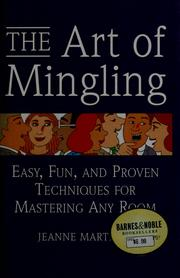 Cover of: The art of mingling by Jeanne Martinet