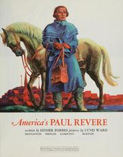 Cover of: America's Paul Revere by Esther Forbes