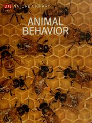 Cover of: Animal behavior by Tinbergen, Niko