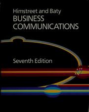 Cover of: Business communications by William C. Himstreet
