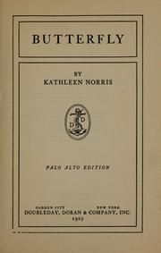 Cover of: Butterfly by Kathleen Thompson Norris