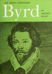 Byrd by Imogen Holst