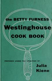 Cover of: The Betty Furness Westinghouse cook book by Betty Furness