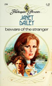 Cover of: Beware of the stranger by Janet Dailey