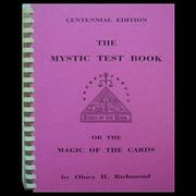 The Mystic Test Book by Olney H. Richmond