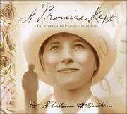 Cover of: A Promise Kept by J. Robertson McQuilkin
