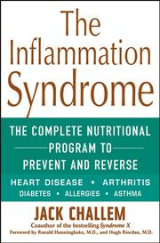 Cover of: The Inflammation Syndrome by Jack Challem