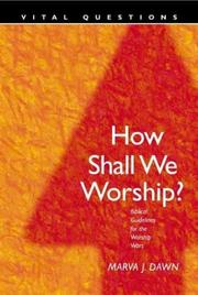 How Shall We Worship? PDF