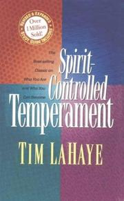 Spirit-controlled temperament by Tim F. LaHaye