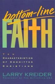 Bottom Line Faith PDF