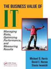 The business value of IT by Michael D.S Harris