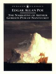 Cover of: The Narrative of Arthur Gordon Pym of Nantucket by Edgar Allan Poe