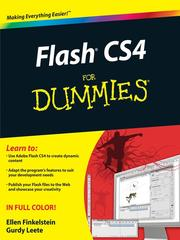 Flash CS4 for dummies by Ellen Finkelstein