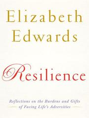 Cover of: Resilience by Elizabeth Edwards