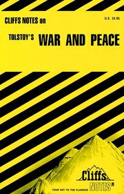 War and peace : notes by Marianne Sturman