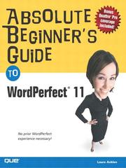 Absolute Beginners Guide to WordPerfect 11