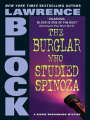 Cover of: The Burglar Who Studied Spinoza by Lawrence Block