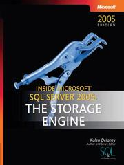 Inside Microsoft SQL server 2005 by Kalen Delaney