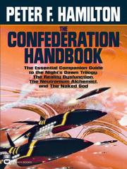 Cover of: The Confederation Handbook by Peter F. Hamilton