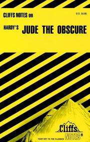 Jude the obscure by Frank H. Thompson