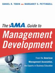 The AMA guide to management development by Tobin, Daniel R.