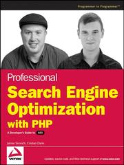 Professional search engine optimization with PHP by Jaimie Sirovich