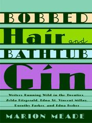 Cover of: Bobbed Hair and Bathtub Gin by Marion Meade