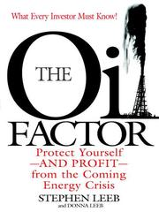 The oil factor by Stephen Leeb