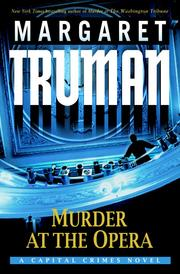 Cover of: Murder at the Opera by Margaret Truman