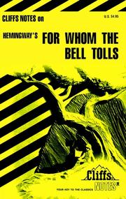For whom the bell tolls by LaRocque DuBose