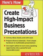Create high impact business presentations PDF