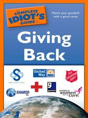 The complete idiot's guide to giving back by Elizabeth Ziemba