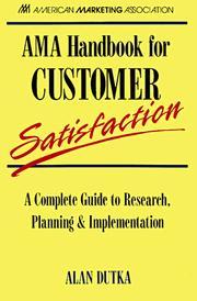 AMA handbook for customer satisfaction PDF