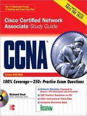 CCNA Cisco certified network associate study guide by Richard A. Deal