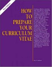 How to prepare your curriculum vitae PDF