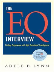 The EQ interview by Adele B. Lynn