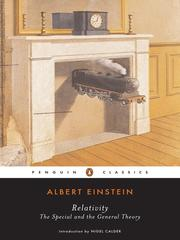 Cover of: Relativity by Albert Einstein