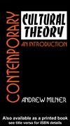 Contemporary cultural theory by Andrew Milner
