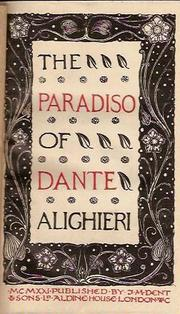 Paradiso by Dante Alighieri