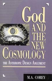 God and the new cosmology by Michael Anthony Corey