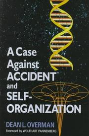 A case against accident and self-organization PDF